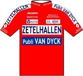 Zetelhallen - Ysco 1995 shirt