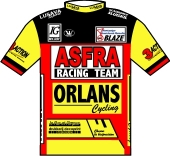 Asfra Racing Team - Orlans - Blaze 1995 shirt