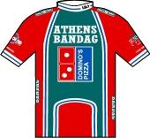 Athens Bandag - Domino's 1995 shirt