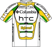 Team Columbia - HTC 2009 shirt