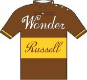 Wonder - Cycles Russell 1924 shirt