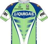Liquigas 2008 shirt
