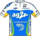 Ag2r La Mondiale 2008 shirt