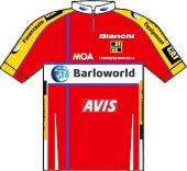 Barloworld 2008 shirt