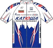 Team Katusha 2009 shirt