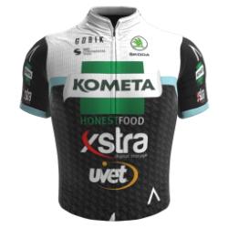 Kometa - Xstra Cycling Team 2020 shirt