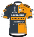 Ljubljana - Gusto - Santic 2020 shirt