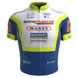 Intermarché - Wanty - Gobert Matériaux 2021 shirt