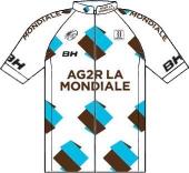Ag2r La Mondiale 2009 shirt