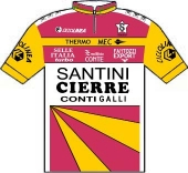 Santini - Cierre 1986 shirt