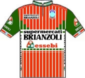 Supermercati Brianzoli - Essebi 1986 shirt
