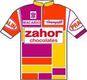 Zahor Chocolates 1986 shirt