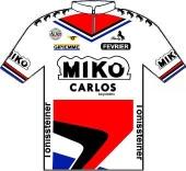 Miko - Carlos - Février - Tönissteiner 1986 shirt