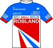 Robland - La Claire Fontaine - Salvo - Galli 1986 shirt