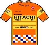 Hitachi - Marc - Splendor 1986 shirt
