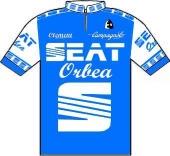 Seat - Orbea 1986 shirt