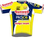 Sunweb Pro Job Cycling Team 2009 shirt