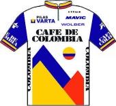 Café de Colombia - Varta 1986 shirt