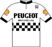 Peugeot - Shell - Michelin 1984 shirt
