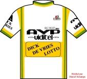 AVP - Viditel - De Vries Lotto 1984 shirt