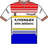U.N.C.P. - A. Trioulier - ELM Leblanc 1984 shirt