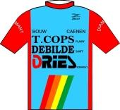 De Bilde - T Cops - Caenen - Dries 1984 shirt