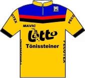 Tönissteiner - Lotto - Mavic - Pecotex 1984 shirt