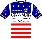 Gianni Motta - Linea M.D. Italia 1984 shirt