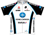 Team Konica Minolta / Bizhub 2009 shirt