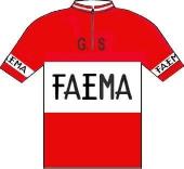Faema - Guerra 1957 shirt