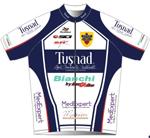 Tusnad Cycling Team 2009 shirt