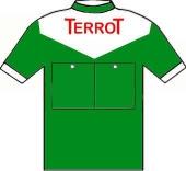 Terrot - Wolber - Hutchinson 1951 shirt