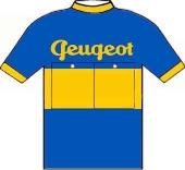 Peugeot - Dunlop 1951 shirt