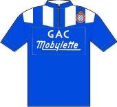 R.C.D. Espanol - Mobylette - Caobania - GAC 1956 shirt