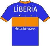 Libéria - Hutchinson 1956 shirt