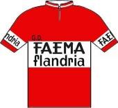Faema - Flandria 1963 shirt