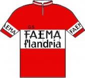Flandria - Faema - Clément 1962 shirt