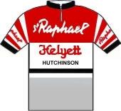 Saint Raphaël - Helyett - Hutchinson 1962 shirt