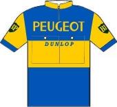 Peugeot - BP - Dunlop 1962 shirt