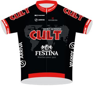 Team Cult Energy 2013 shirt