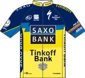 Team Saxo - Tinkoff 2013 shirt