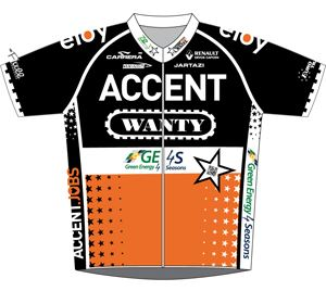 Accent Jobs - Wanty 2013 shirt