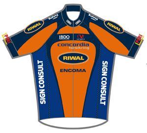 Concordia Forsikring - Riwal 2013 shirt