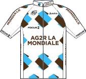 Ag2r La Mondiale 2013 shirt
