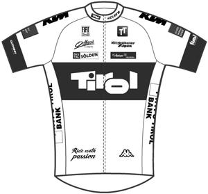 Tirol Cycling Team 2013 shirt
