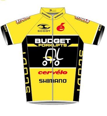 Team Budget Forklifts 2013 shirt