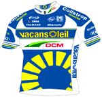 Vacansoleil - DCM Pro Cycling Team 2013 shirt