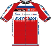 Katusha Team 2013 shirt