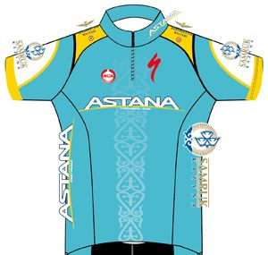 Continental Team Astana 2013 shirt