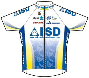 ISD Continental Team 2013 shirt